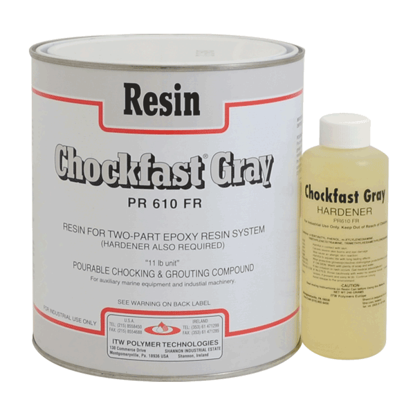 Chockfast Gray: 2-component epoxy resin
