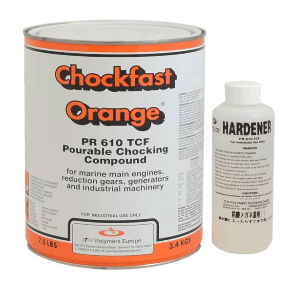 Chockfast Orange: 2-component epoxy resin