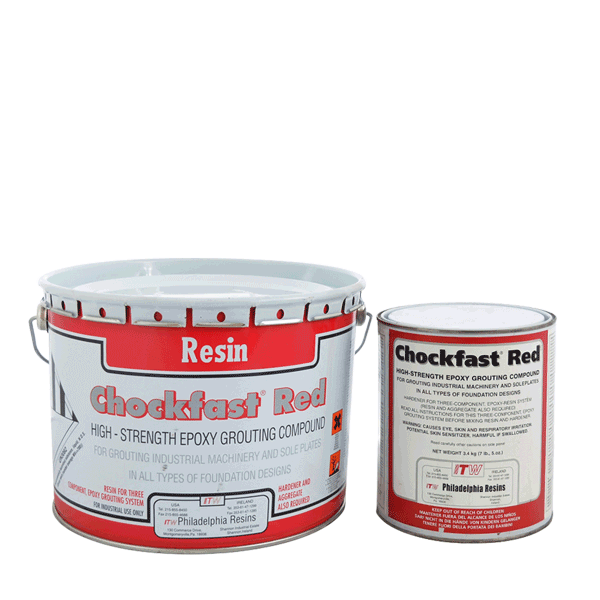 Chockfast Red: 3-component epoxy resin