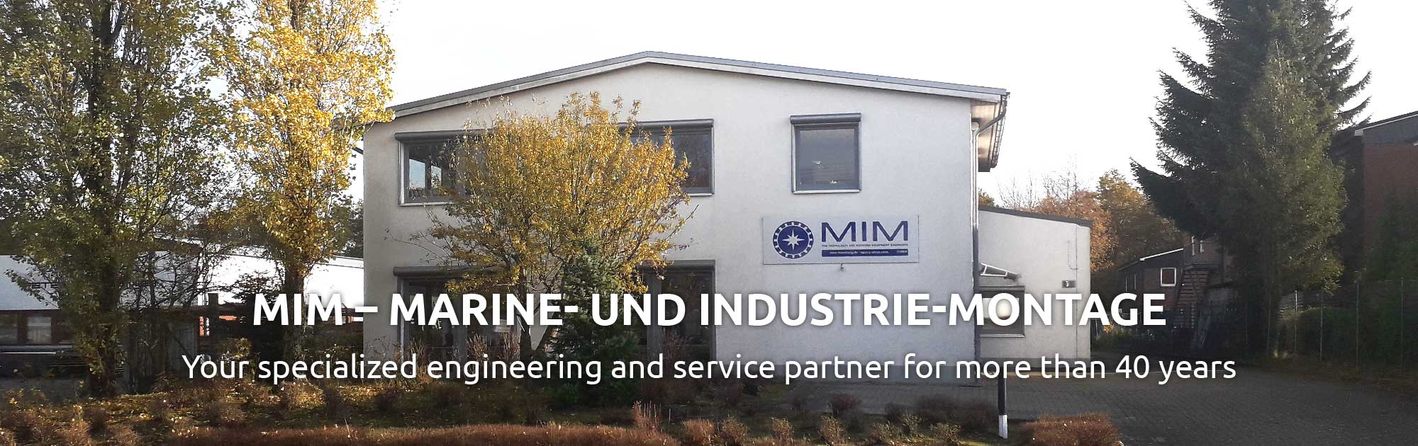 MIM GmbH - Your specialist for foundation of machines and plants in Hamburg and Norderstedt.