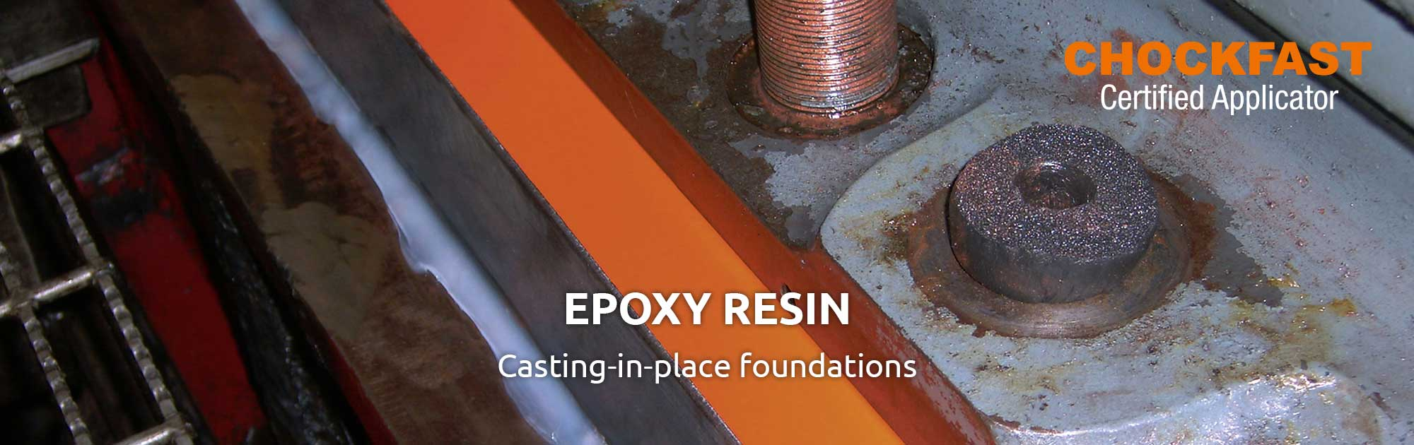 Epoxy resin casting-in-place foundation by MIM Hamburg