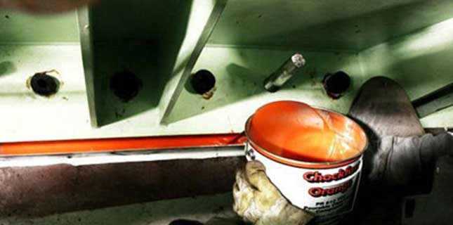 Chockfast: Casting synthetic resin Chockfast Orange