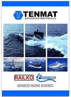 Tenmat Railko Feroform Marine Bearings Catalog EN MIM Hamburg